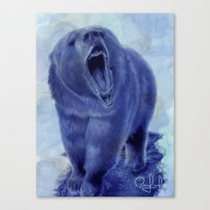 So bear your teeth Canvas Print