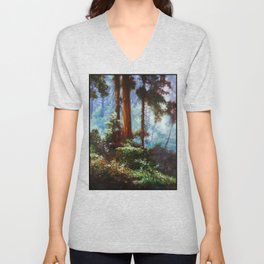 The Forrest Through the Trees Unisex V-Neck