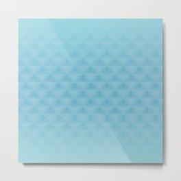 Softened Geometry 2 Metal Print