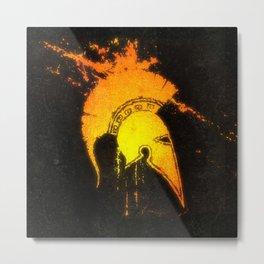 The Masked Man Metal Print