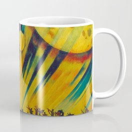 The New Planet, landscape painting by Konstantin Yuon Coffee Mug