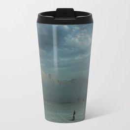 Mushroom Sunset Travel Mug