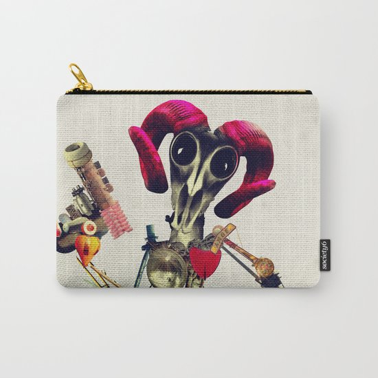 Invader Skull Carry-All Pouch