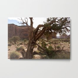 The Essence of Monument Valley Metal Print