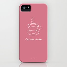 This is Mrs Hudson iPhone Case