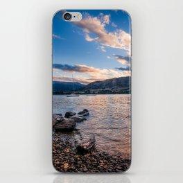 Sunset at Lake Wanaka, New Zealand iPhone Skin