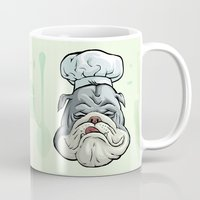 chef Mugs featuring Chef by Keyspice