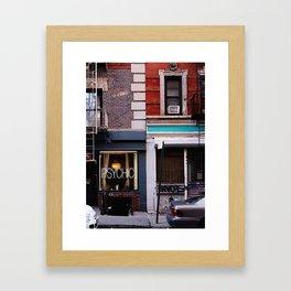 Psychic   West Village  Framed Art Print