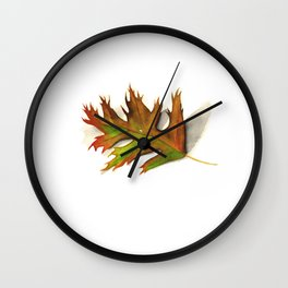 Fall leaf Wall Clock