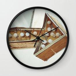 This Way Wall Clock