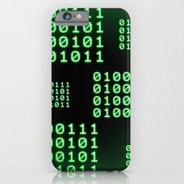 Binary code for GEEK iPhone Case