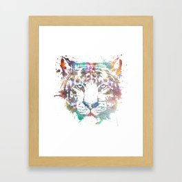 Mushin - Cosmic Tiger Framed Art Print