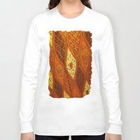 batik Long Sleeve T-shirts featuring batik  by customgift