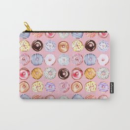 Donuts pattern Carry-All Pouch