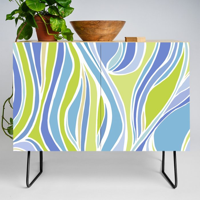 Absinthe Abstract Credenza