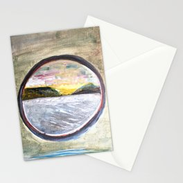 Fan's solo trip in Norway - Cruise in Arctic circle Stationery Cards