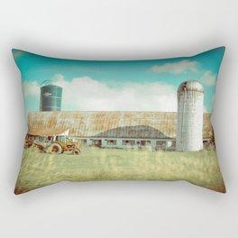 Roadside Vermont Rectangular Pillow