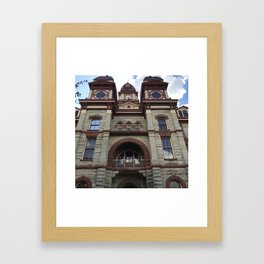 Caldwell County Courthouse Framed Art Print