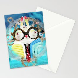 Time Bunny Voyage Stationery Cards