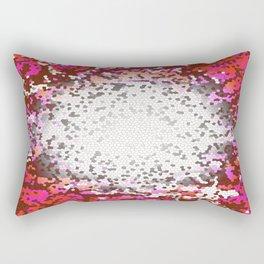 Resonance, Abstract Art Tiles Mosaic Rectangular Pillow