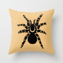 Eclipse Spider Throw Pillow
