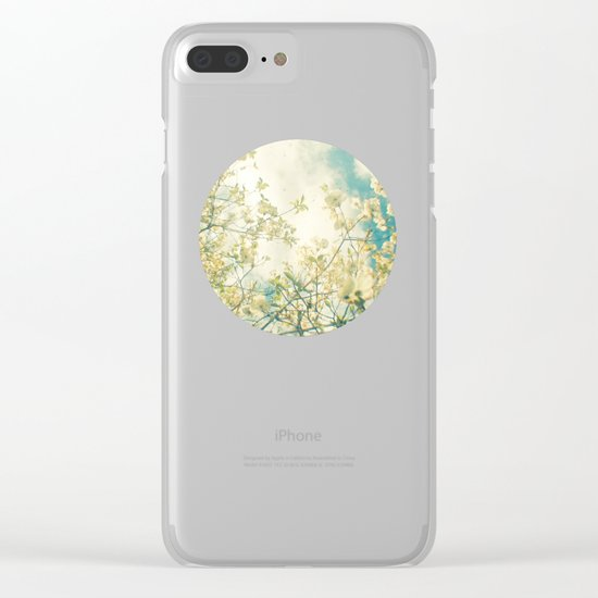 Clusters in the Sky Clear iPhone Case