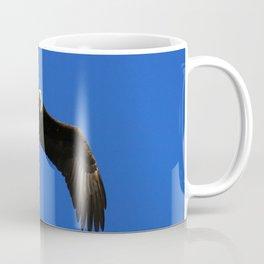 Soaring Eagle Above Coffee Mug