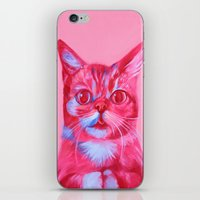 lil bub iPhone & iPod Skins featuring Bub - licious by Jen Mann
