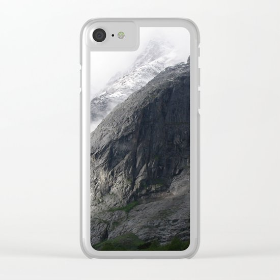 Mountain landscape #norway Clear iPhone Case