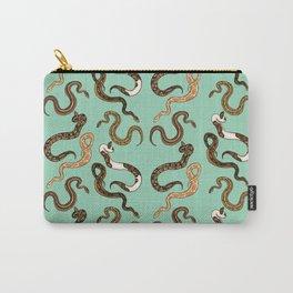 Plenty of Pythons - Pistachio Carry-All Pouch