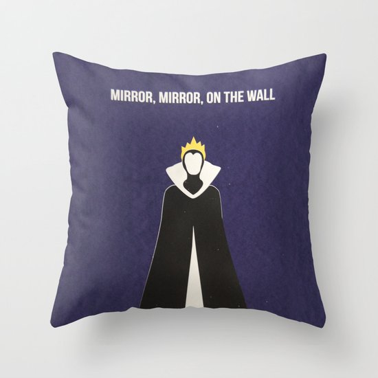 Disney Villain - Evil Queen Throw Pillow