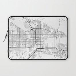 Minimal City Maps - Map Of San Bernardino, California, United States Laptop Sleeve