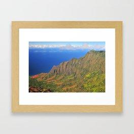Kalalau Valley Framed Art Print