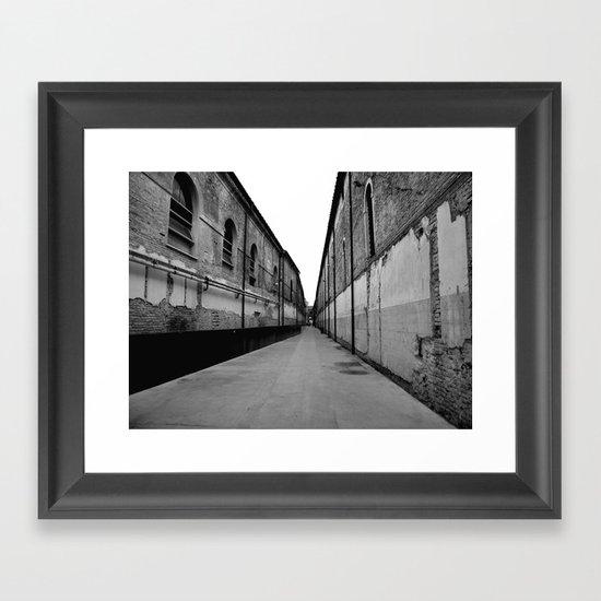 SWAMP VENICE III Framed Art Print