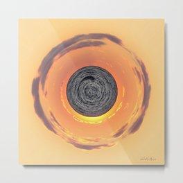 Hot Water Planet Metal Print