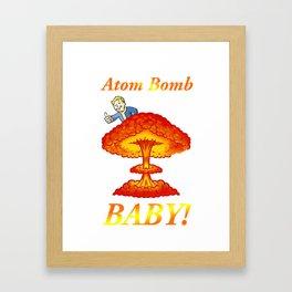 "Fallout 4 ""Atom Bomb Baby!"" Framed Art Print"