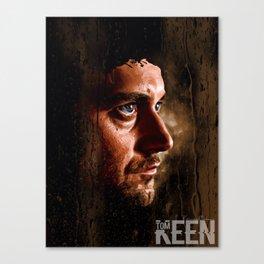 Ryan Eggold - Tom Keen Canvas Print