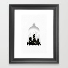 There, in the shadows!  Framed Art Print