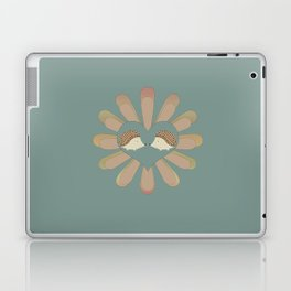 Hedge Hog Flower Power Laptop & iPad Skin