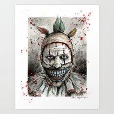 Freak-Show TWISTY Art Print