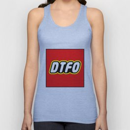 D.T.F.O. Design by Outlet710.com Unisex Tank Top