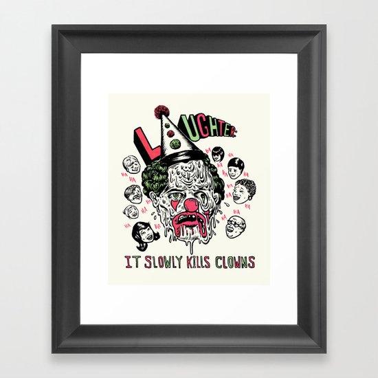 Laughter.. Framed Art Print