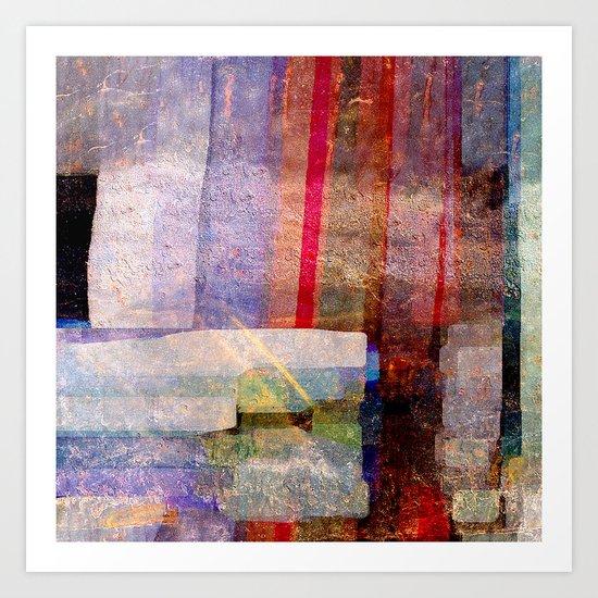 Art Construct Art Print