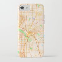 dallas iPhone & iPod Cases featuring Dallas, Texas by Emily Day