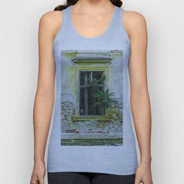 Lostplaces Window in castle Pottendorf Unisex Tank Top