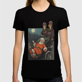 Vintage Christmas Wishes Greeting Card  T-shirt