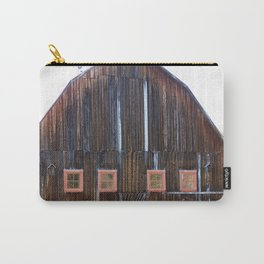 Rustic Old Country Barn Carry-All Pouch