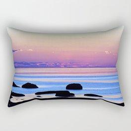 Remembering the Sunset Rectangular Pillow