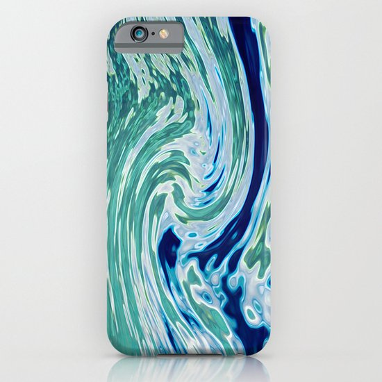 OCEAN ABSTRACT 2 iPhone & iPod Case