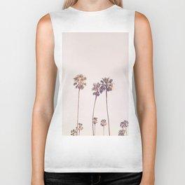 Sunny Cali Palm Trees Biker Tank